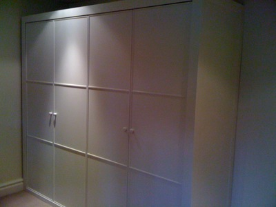 Set of wardrobes